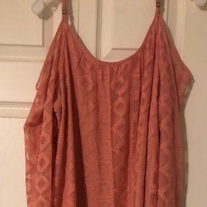 Peach Bush Dress
